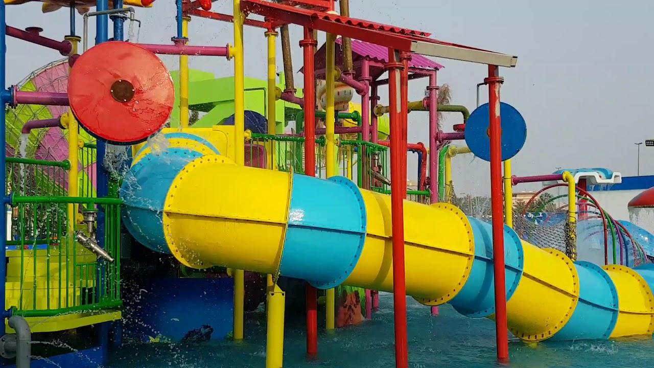 Water Village Park Jeddah Aqua Play Youtube