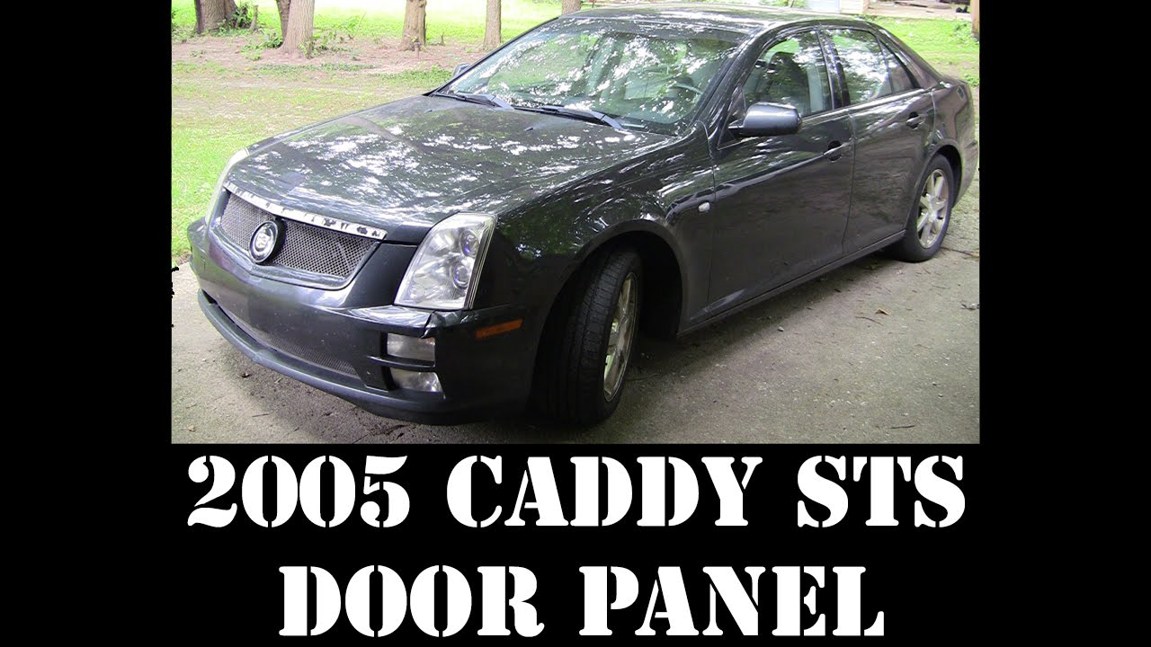 maxresdefault 2005 cadillac sts driver door panel removal 320hp v8 rwd luxury  at bayanpartner.co