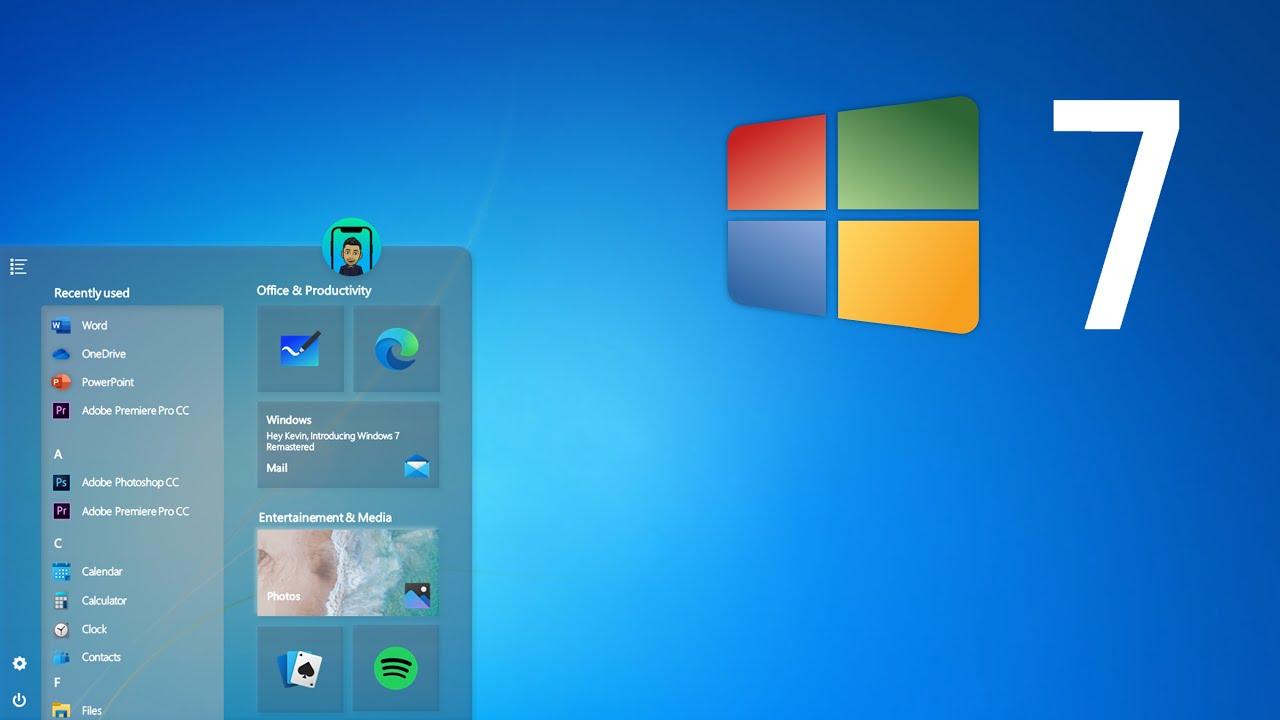 Windows 7 Returns With The Stunning 2020 Edition Betanews