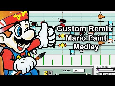 Rhythm Heaven Megamix (Custom Remix) - Mario Paint Medley