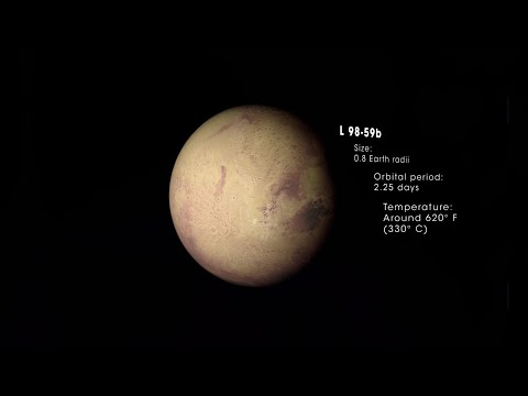 Tiny Alien Planet Discovered By NASA TESS Mission