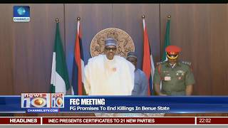 FG Promises To End Killings In Benue State