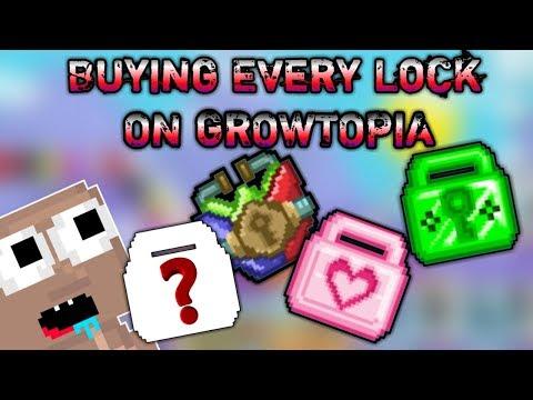 Buying Every Lock On Growtopia | GrowTopia