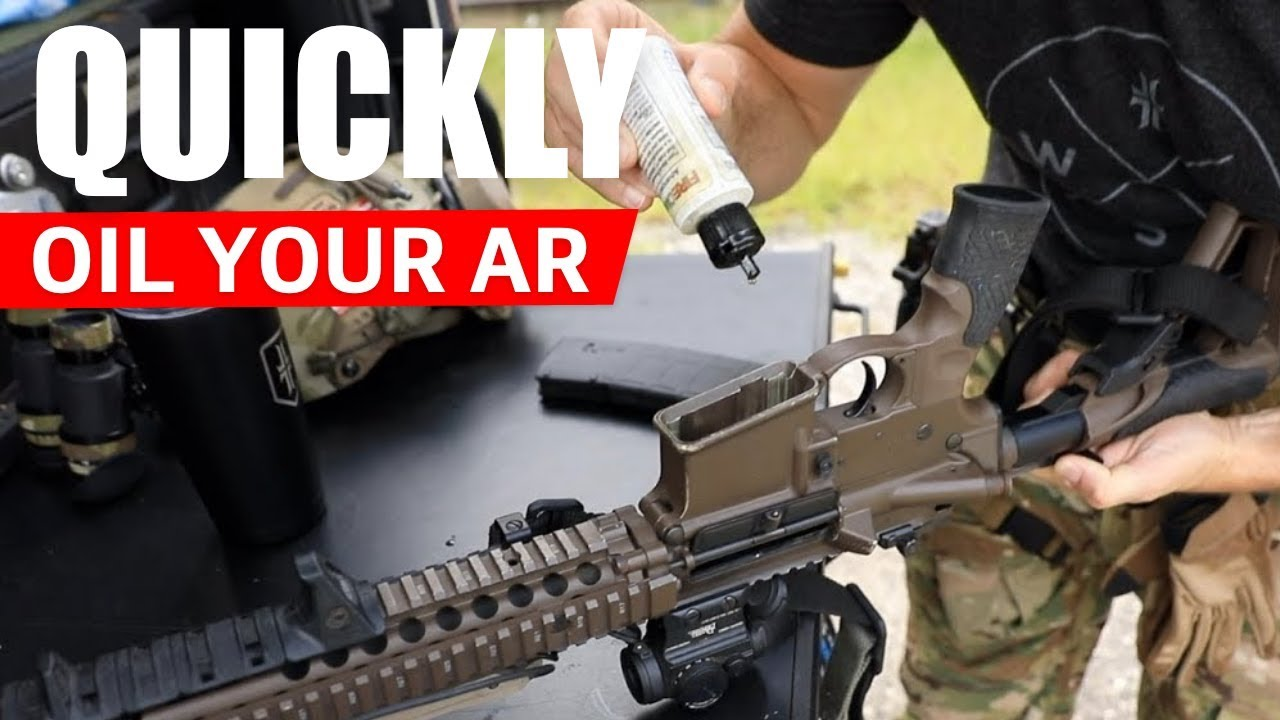 PRO TIP: Quickly Oil an AR-15