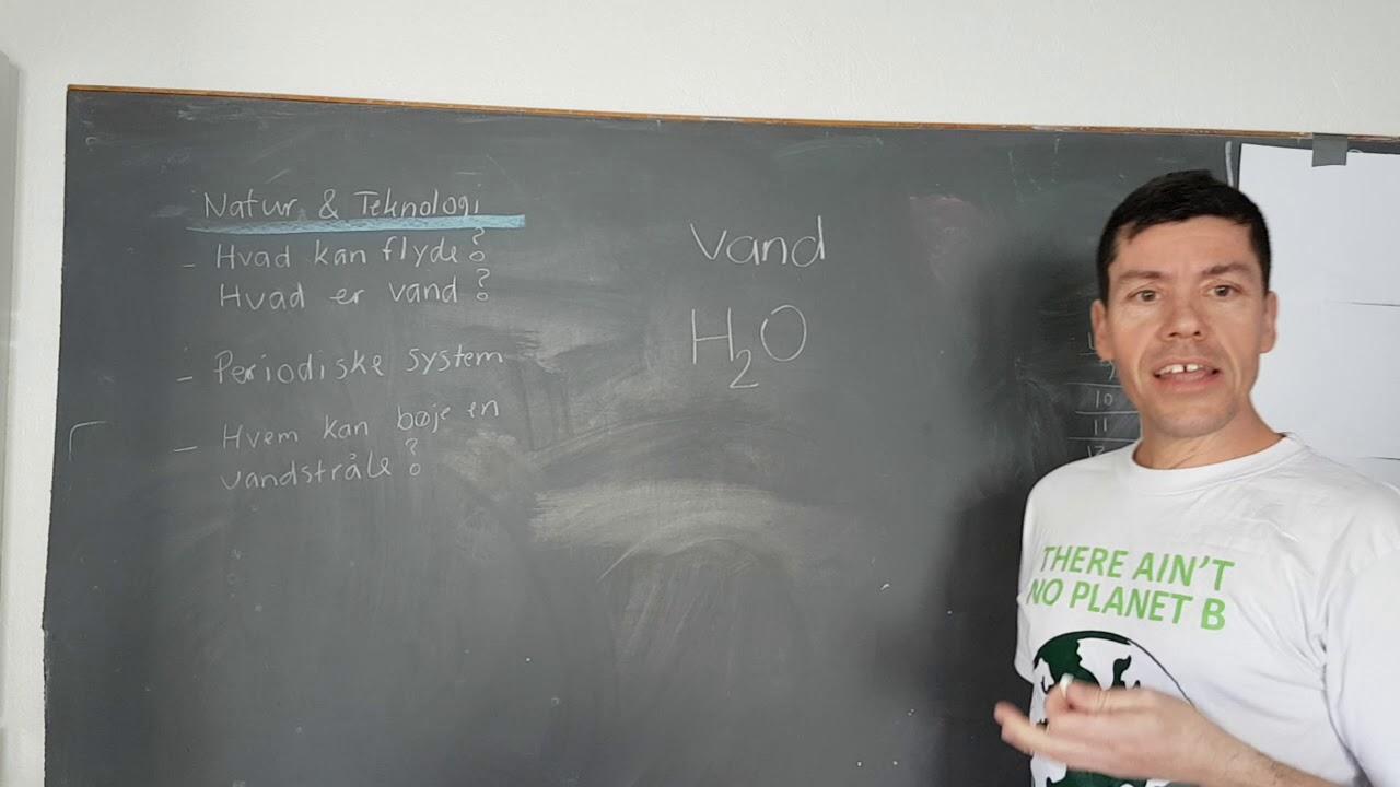 Hjemmeskole #3 Natur & Teknologi om vand