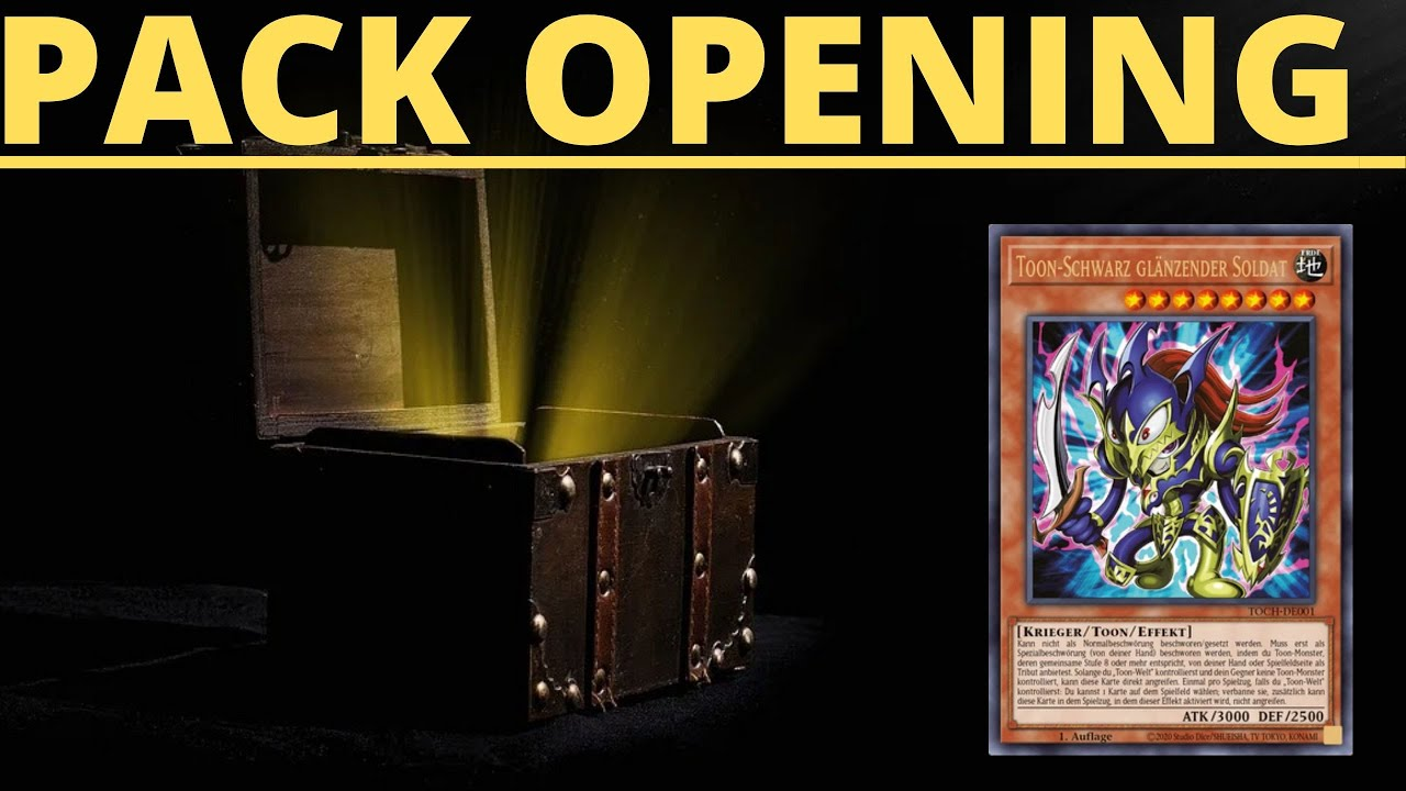 TOON CHAOS YUGIOH PACK OPENING :-O
