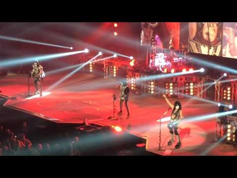 KISS in Fort Wayne, Indiana, August 12, 2016
