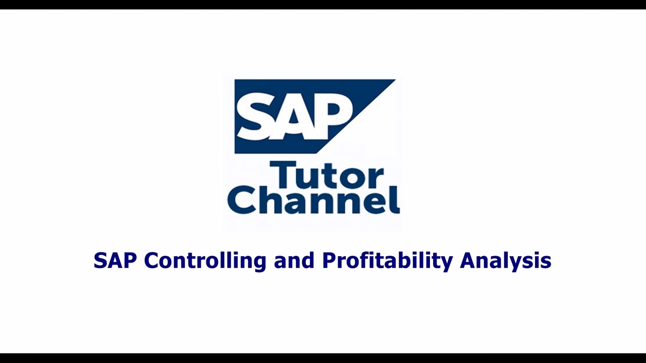 SAP Controlling and Profitability Analysis