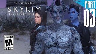 【SKYRIM 200+ MODS】Dark Elf Gameplay Walkthrough Part 3 [PC - HD]