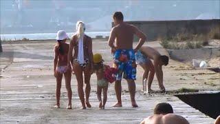 Лето. Море. Отдых с детьми. Summer. Beach. Relax with kids.(Наш семейный выходной день на авто пляже под Одессой. Мы любим это место, любим приезжать сюда с друзьями,..., 2015-12-27T23:58:44.000Z)