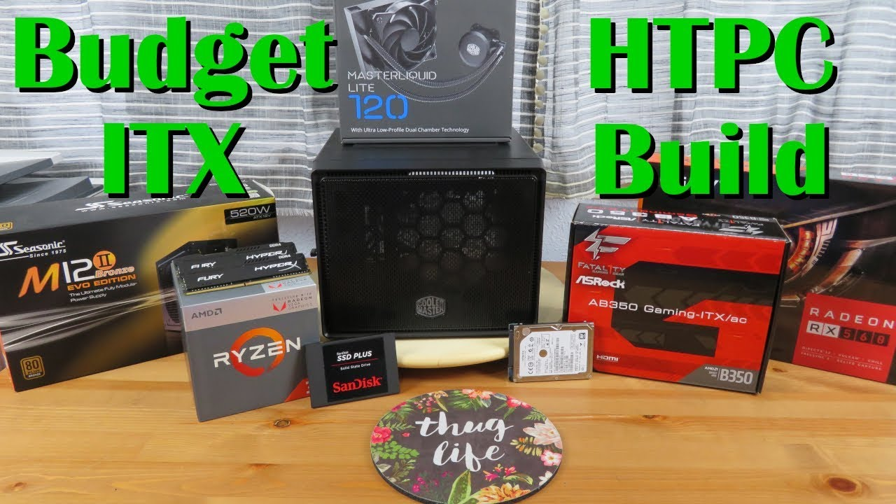 $430 Budget ITX HTPC Build!