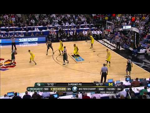 #22 Michigan State vs #8 Michigan (3/16/2014) Big Ten Championship