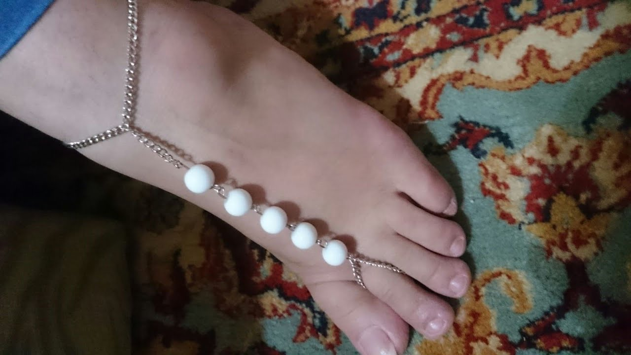 Make Easy Barefoot Sandals - Diy Tutorial