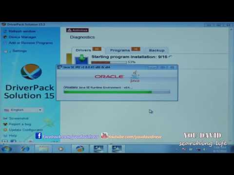 How to Install Driver Solution All PC