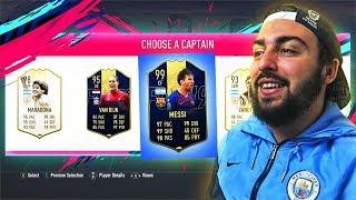 FIFA 19 - DRAFT AVEC LES JOUEURS LES PLUS FORTS DU JEU !!!