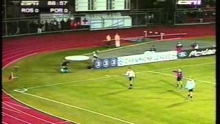1996 (October 16) Rosenborg (Norway) 0- Porto (Portugal) 1 (Champions League)