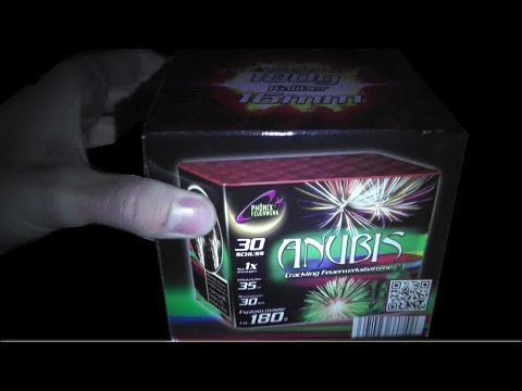 Phönix Feuerwerk - Anubis Batterie