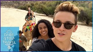 Damon and Jo Travel By Camel in Mexico | Dare To Travel Episode 10