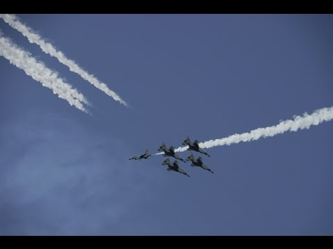 Top 10 Things to Do at Cheyenne Frontier Days - #7 Feel the Power of the Air Force Thunderbirds!