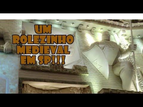 Festa Medieval em um Castelo REAL! Vlog - Omega Play