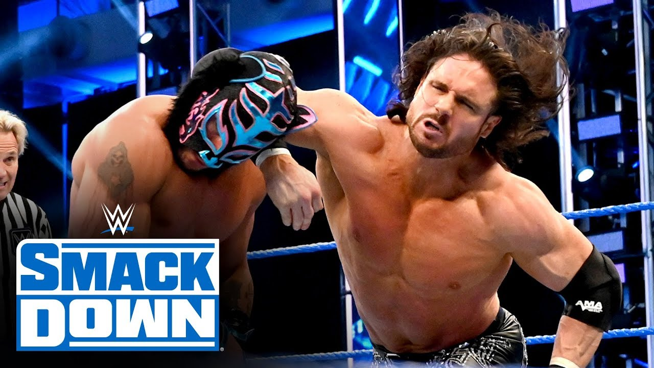 Lucha House Party vs. The Miz & John Morrison: SmackDown, April 24, 2020