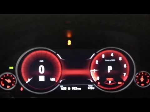 BMW all digital intrument gauge cluster for 2014