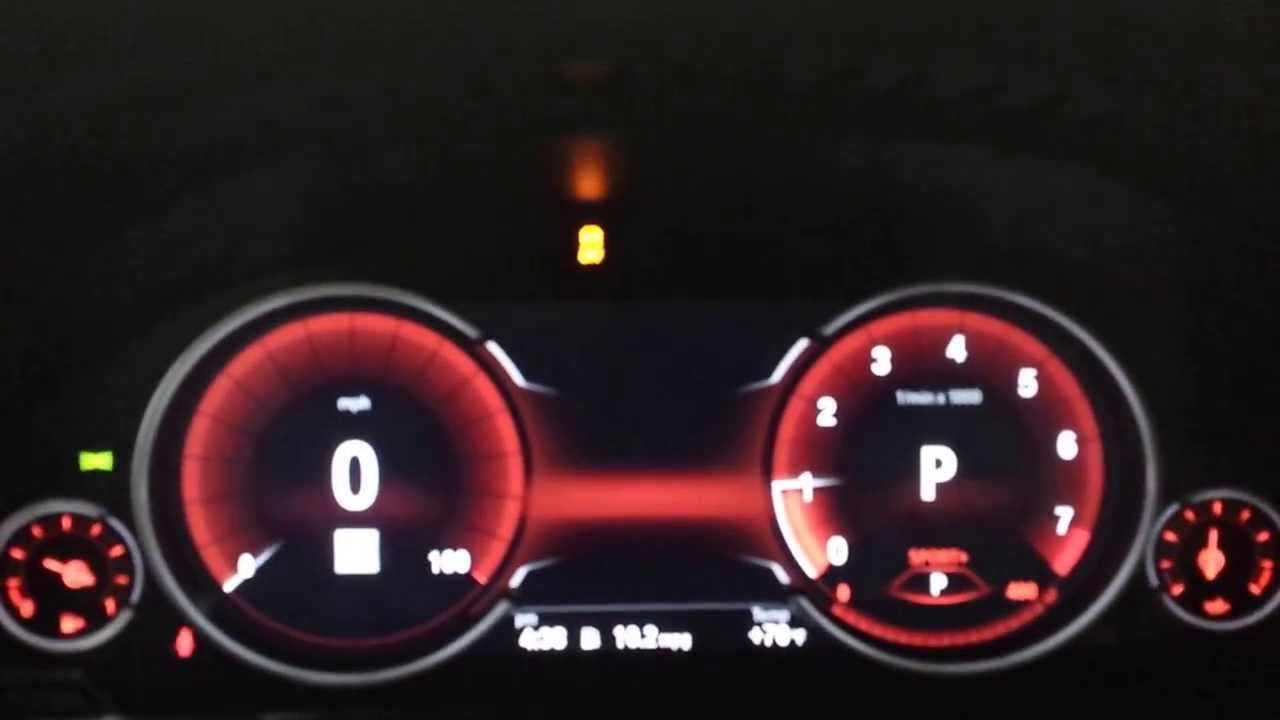 BMW all digital intrument gauge cluster for 2014