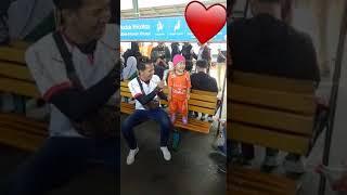 Anak kecil lucu nyanyi lagu persija