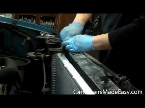 Chevy Pickup 5.7 L Radiator Replacement - YouTube