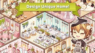 Kawaii Home Design - Room Decoration Game Android Gameplay