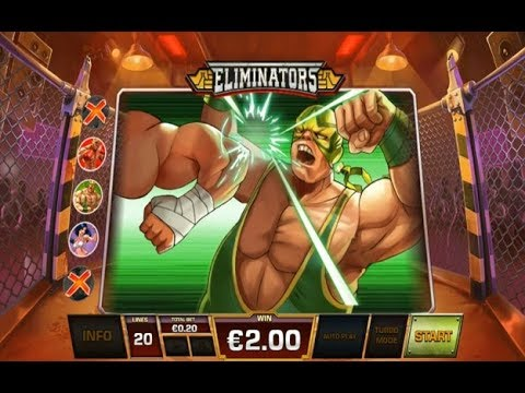 Eliminators Online Slot From Playtech - All Bonuses Triggered