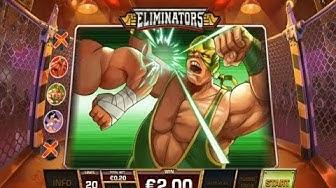 Eliminators Online Slot from Playtech - All Bonuses Triggered