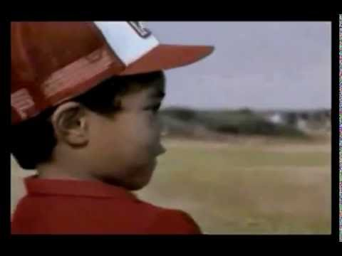 Funny Golf Commercial -- Young Tiger Woods Wins the British Open