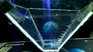Holograma en dispositivos android  comprobando