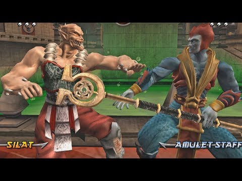 Mortal Kombat Armageddon BARAKA (FLAWLESS VICTORY) - VERY HARD (PS2)【TAS】