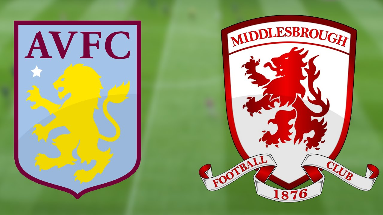 Image result for aston villa vs middlesbrough