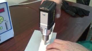 видео Ультразвуковая сварка, сварка пластмасс