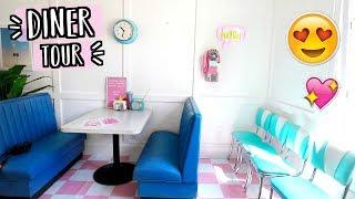 Alisha Marie's Diner! Diner Tour Set! AlishaMarieVlogs