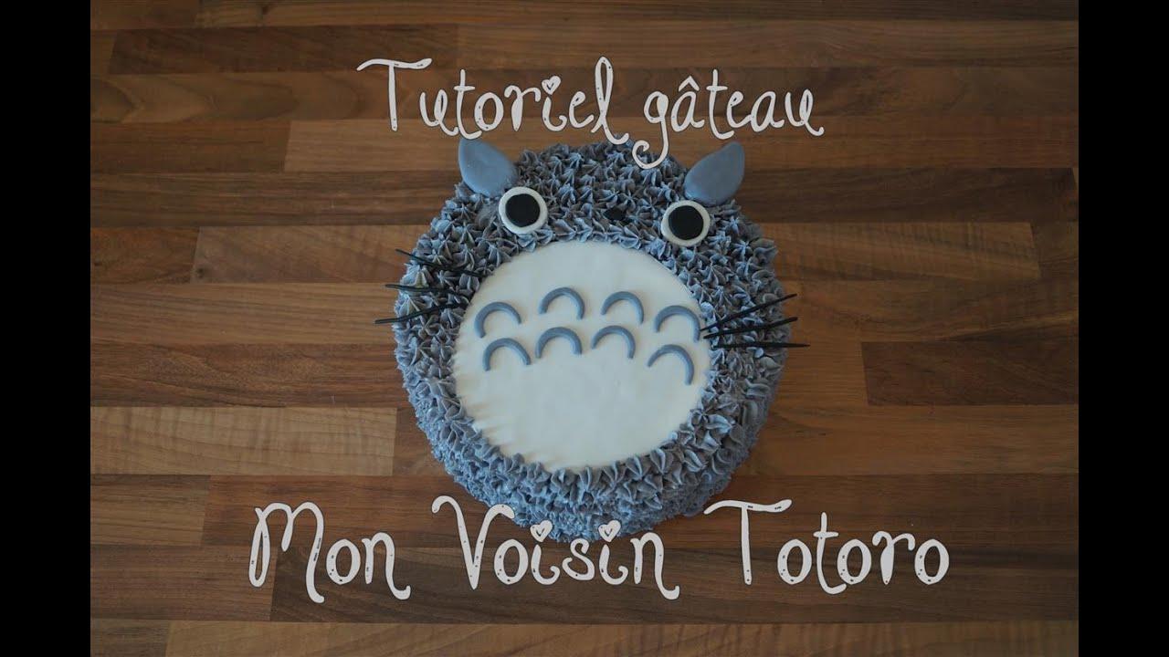 Populaire Gâteau Totoro / My Neighbor Totoro cake - Cake design - YouTube CN65