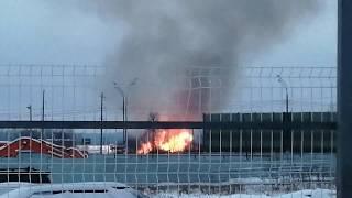 Пожар в Андрейково