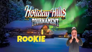 Golf Clash tips, Playthrough, Hole 1-9 - ROOKIE *Tournament Wind* - Holiday Hills Tournament!