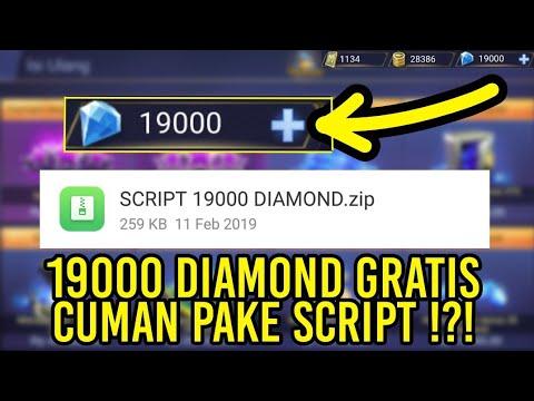 SCRIPT GRATIS 19000 DIAMOND TERBARU MOBILE LEGENDS !!!