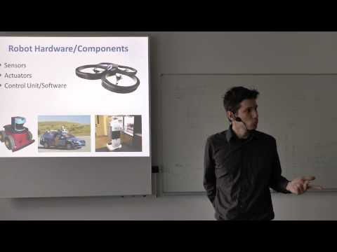 Lecture 1: Visual Navigation for Flying Robots (Dr. Jürgen Sturm)