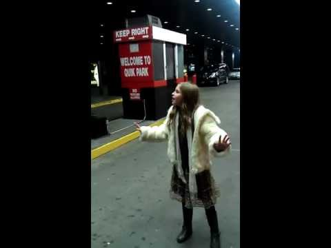 9yr old Brennley Brown sings a clip from The Broadway Musical Gypsy impromptu