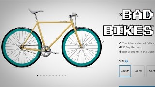 How to Spot Bad Beginner Fixed Gear Bikes