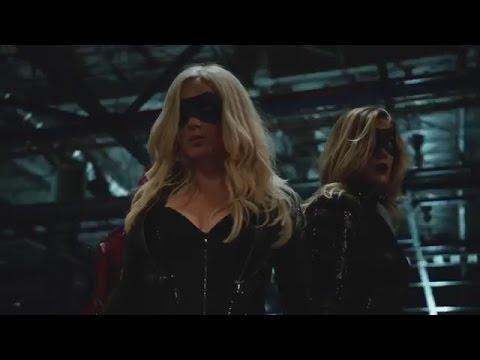 Black Canary Supergirl