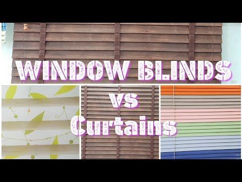 Window Blinds vs Curtains | How to chose for look | CHEAP BLINDS
