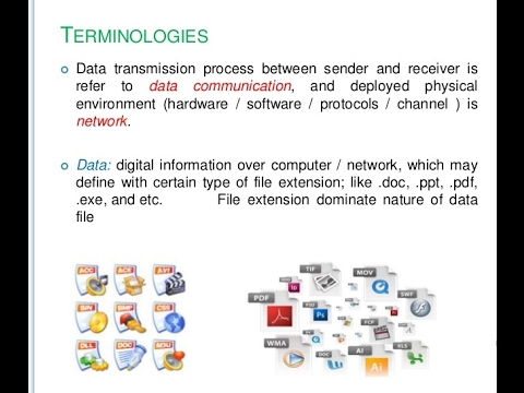 DATA COMMUNICATION TERMINOLOGY