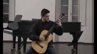 Tiago Pargana plays Estudo nº5 Heitor Villa Lobos