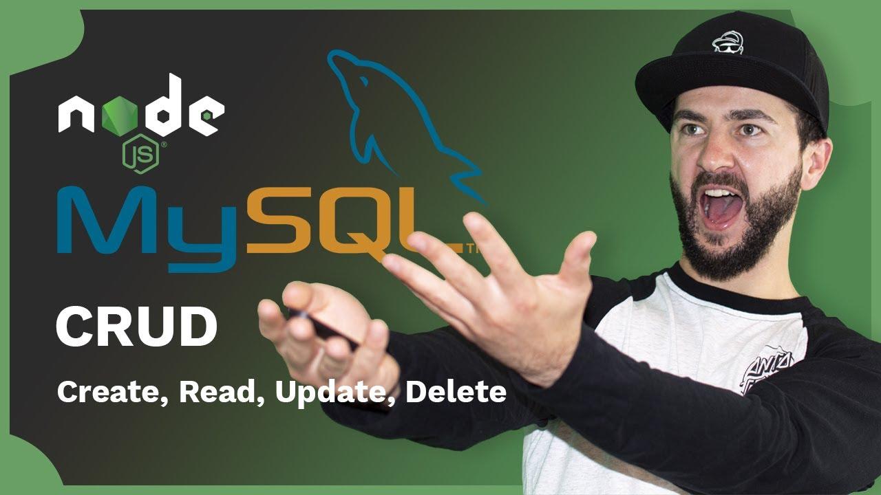 Using Node.js with MySQL – CRUD   XAMPP / PhpMyAdmin